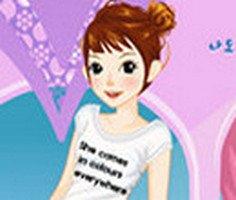 Sirin Kiz Giysi Giydirme