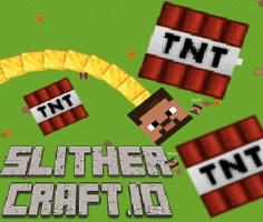 SlitherCraft.io oyunu oyna