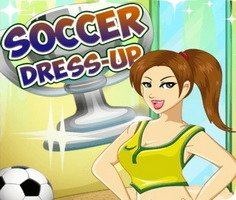 Futbol Kız Giydirme