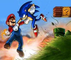 Sonic Mario Dünyasında Kayboldu