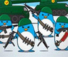Güney Kutbu Saldırgan Penguenler