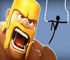 Spider Stickman 7: Clash of Clans