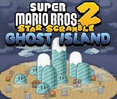 Süper Mario Bros Yıldız Toplama 2 Hayalet Ada