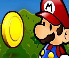 Süper Mario Paraları Topla