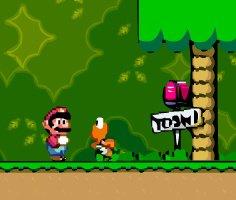 Süper Mario Vektör Dünyası