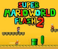 Süper Mario Dünyası Flash 2