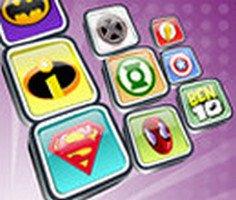 Süper Kahramanlar Logo Eşleştirme
