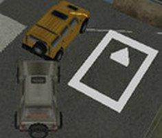 3D SUV Park Etme