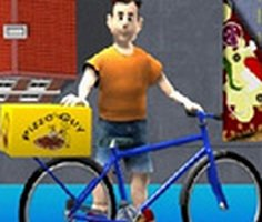 Bisikletli Pizzaci Adam