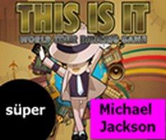 Michael Jackson Dünya Turu Dans Oyunu