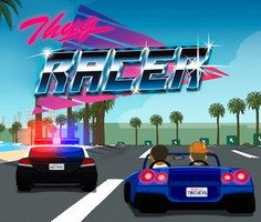 Hırsız Polis Araba Kovalamaca