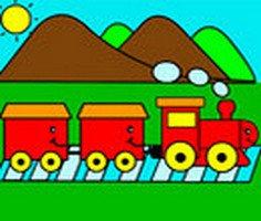 Tren Boyama Oyunu Tren Boyama Oyunlari Oyna Boyama Oyunlari
