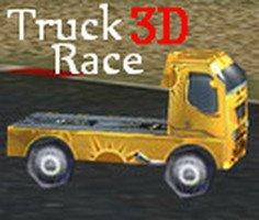 3D Yarış Kamyonu