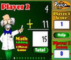 Matematik Toplama iki Oyunculu