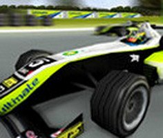 Süper Formula Yarışı 3D